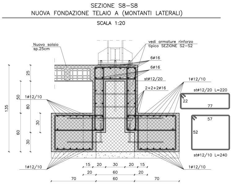Wise civil adeguamento sismico scuola melozzo degli ambrogi - Consolidare fondamenta di una casa ...