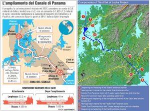 Espansione del Canale di Panama Salini Impregilo