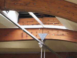 Quadro fessurativo del sistema di perni inerenti i nodi di collegamento dell'arco