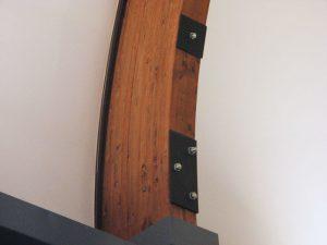 Rinforzo del nodo all'imposta dell'arco a tutto sesto