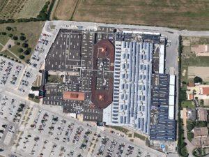 Vista aerea del complesso