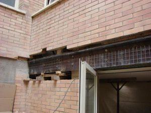 ETS trave: installazione barre e carpenteria metallica