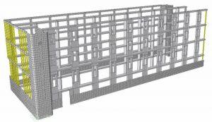 Modello FEM della struttura