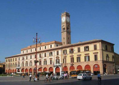 Vista da Piazza Saffi