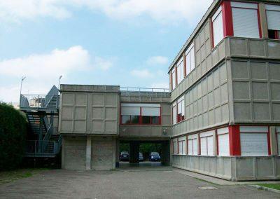 Vista facciata nord