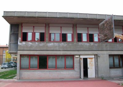 Vista facciata sud