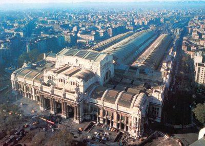 Vista della Stazione Centrale di Milano