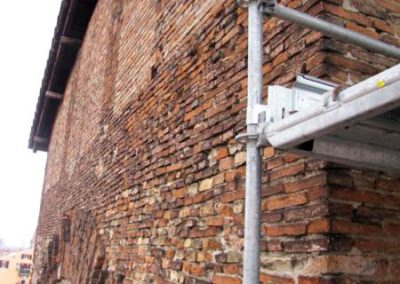 Vista parete Ovest Cappellone