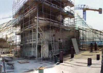 Solaio sottotetto risanato/ricostruito (dopo risanamento/consolidamento muri p.2°)