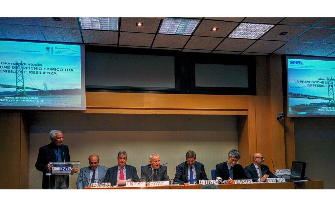 WISEcivil a Roma! La giornata di studio sul rischio sismico organizzata dall'ENEA.