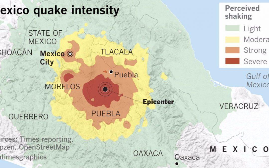 Effetti del terremoto del 7 settembre 2017 a Città del Messico